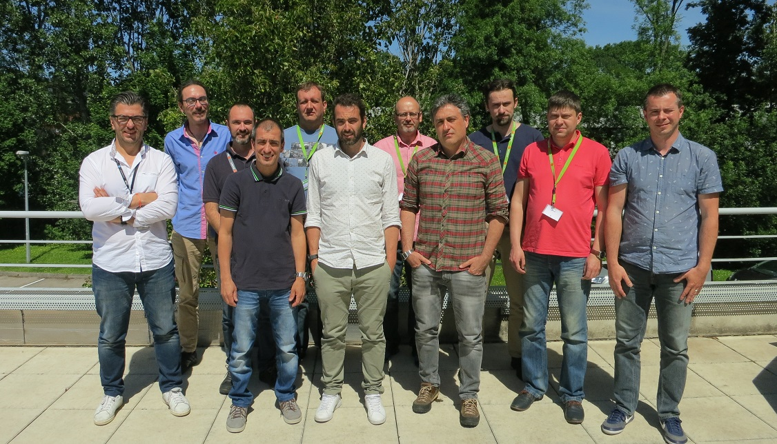 Rhys Evans, ECOTECH's Senior Technical Specialist [pictured third from left] delivered annual training for ECOTECH European... </p srcset=