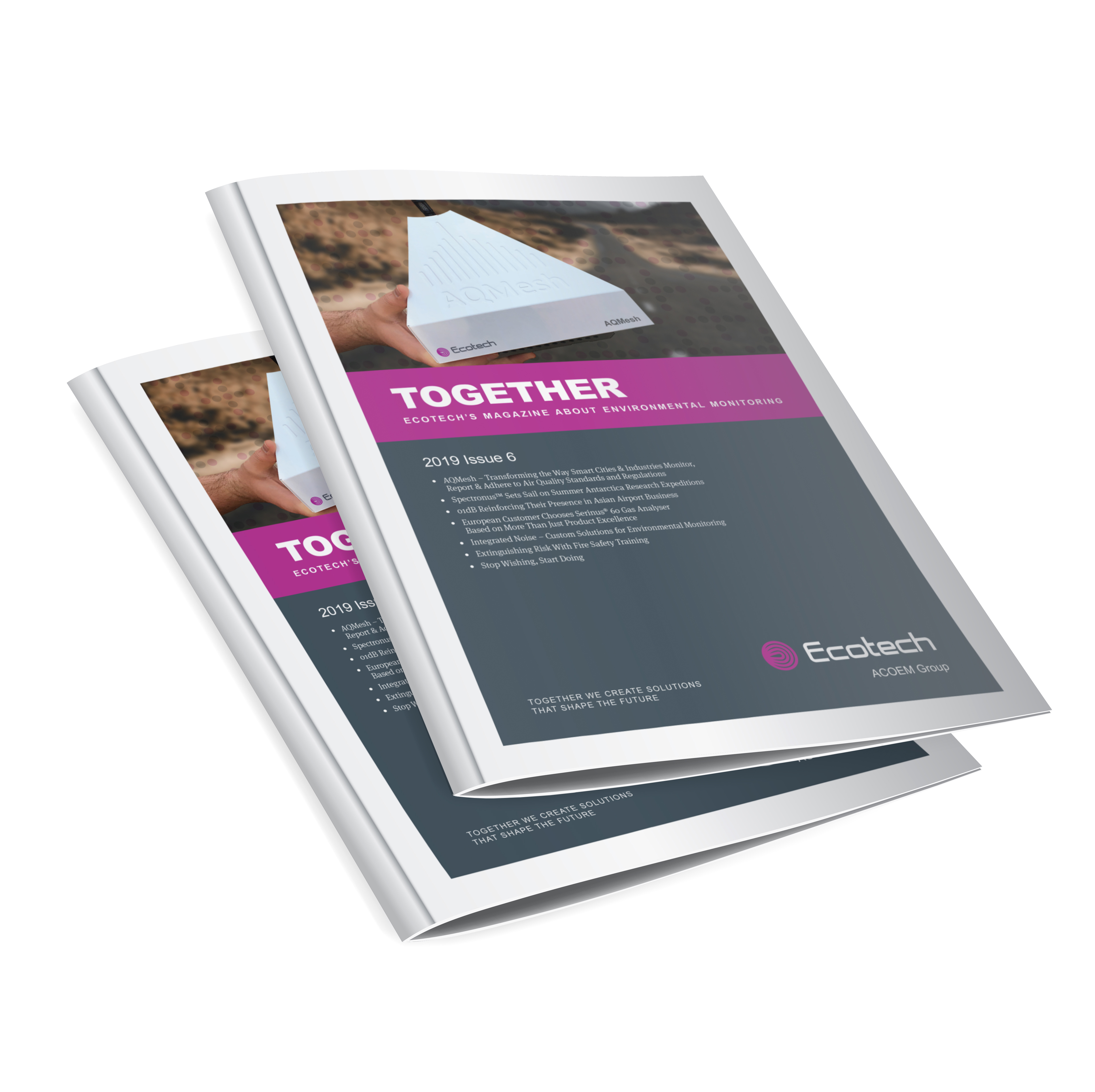 ECOTECH TOGETHER Issue 6 graphic